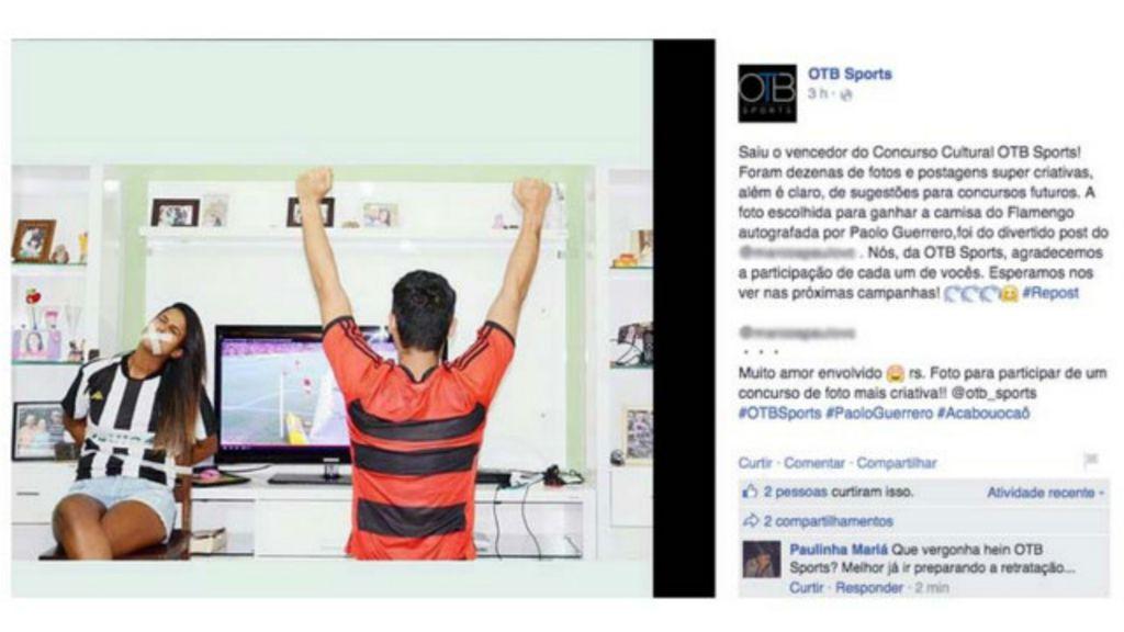 #SalaSocial Concurso elege foto de mulher amordaçada e revolta ...