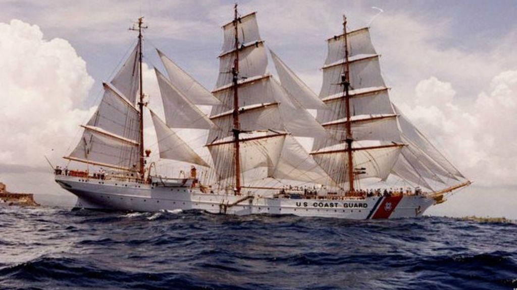 A história do navio nazista que hoje serve ao governo dos EUA ...