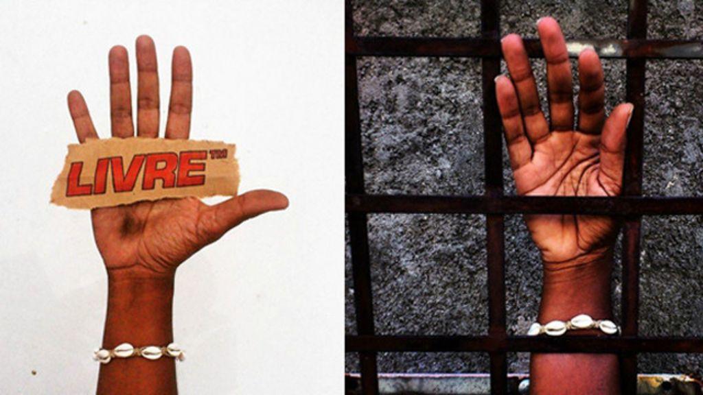 Com 'selfies' da mão, artista questiona racismo e intolerância - BBC ...