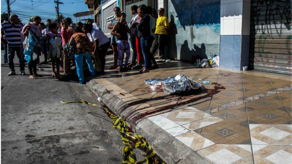 SP: Chacinas já matam mais do que em 2014 e acendem alerta ...