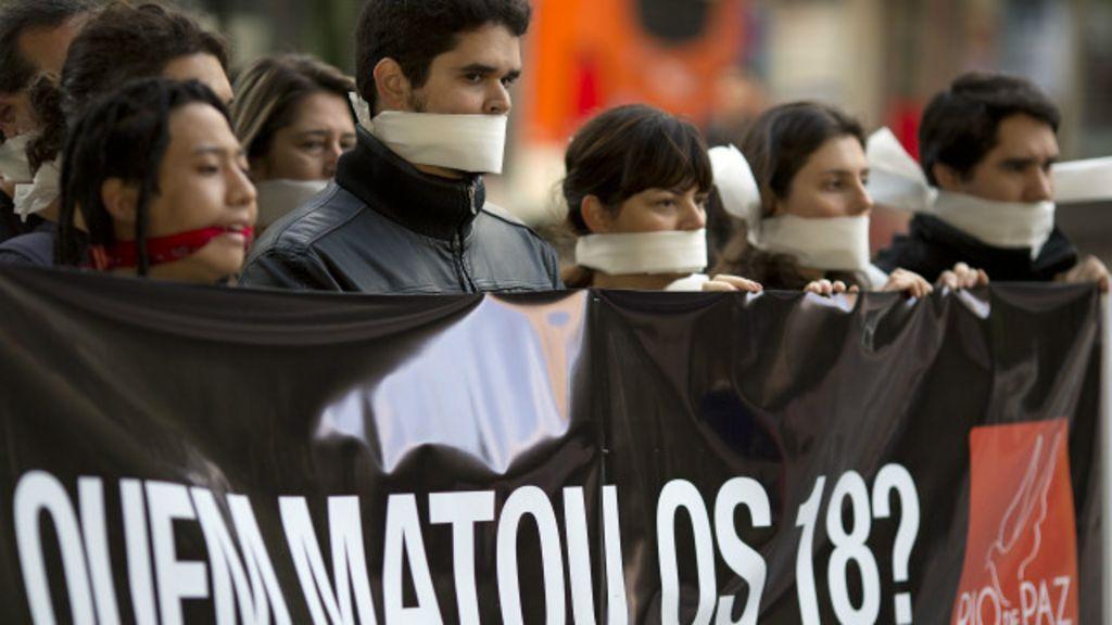 ' Chacinas revelam anestesia moral', diz sociólogo - BBC Brasil