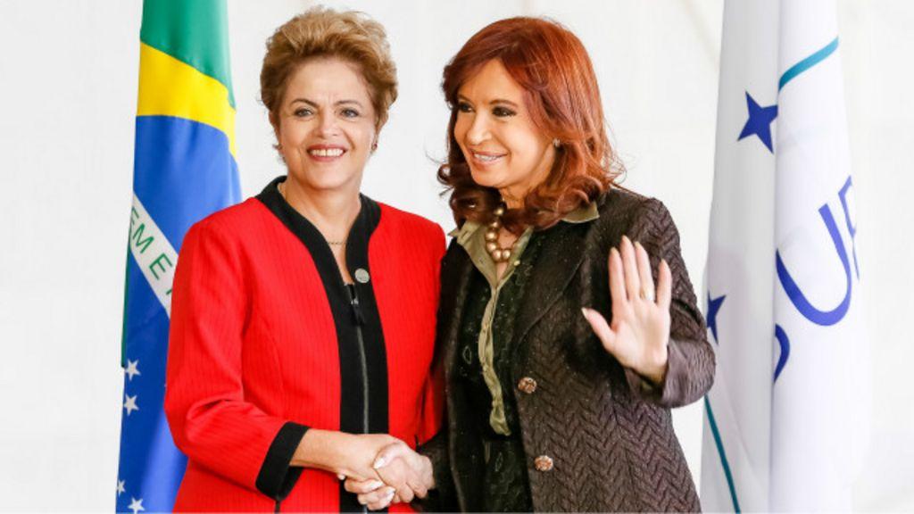 Cristina Kirchner defende Lula e Dilma e fala em 'conspiração' no ...