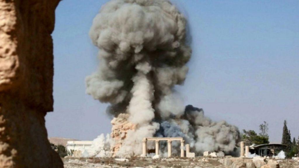 Imagens confirmam destruição de templo em Palmira por 'EI', diz ...