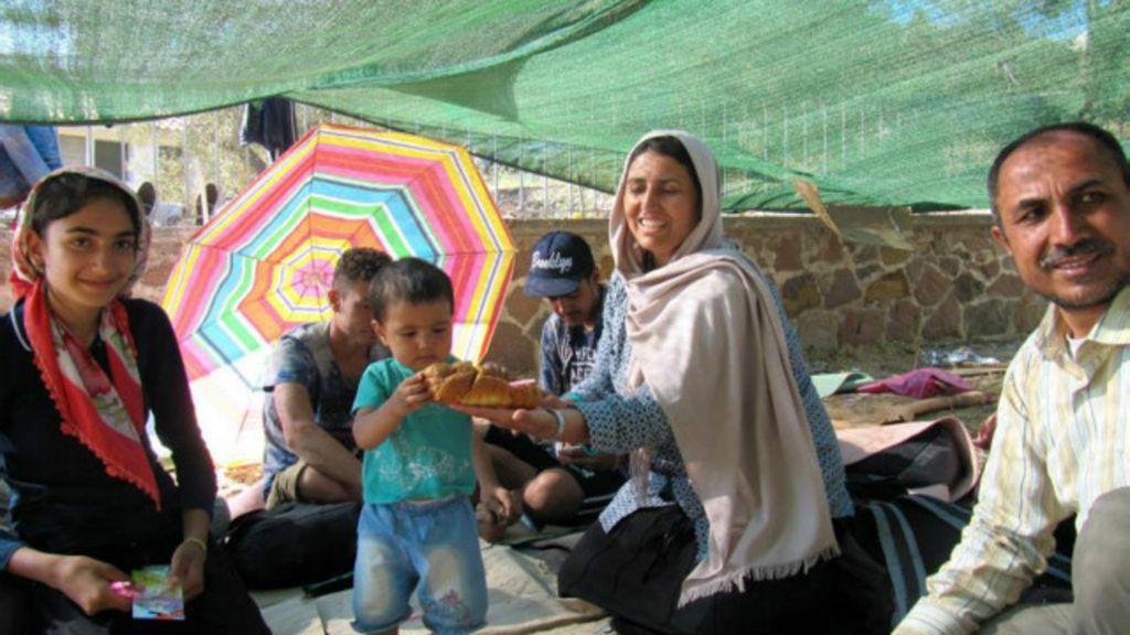 'Precisei me segurar para não chorar com o que os refugiados me ...