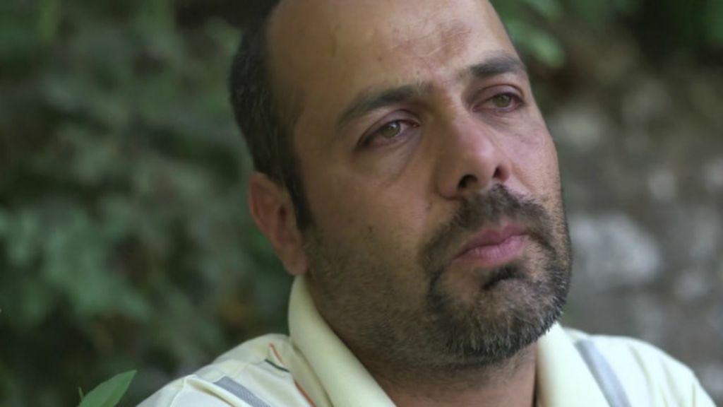 conta pai refugiado sobre fuga da Síria