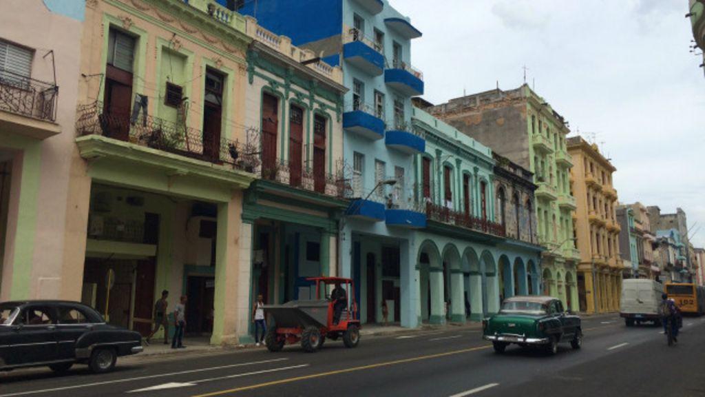 Ruas de Havana ganham 'maquiagem' para visita do papa - BBC ...