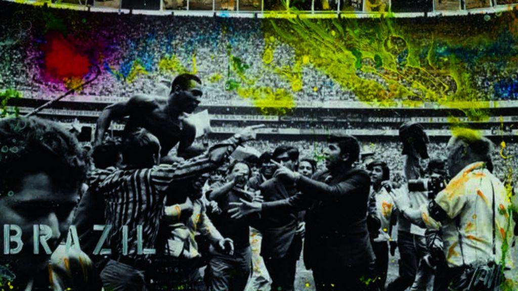 Pelé inspira arte em nova exposição em Londres - BBC Brasil