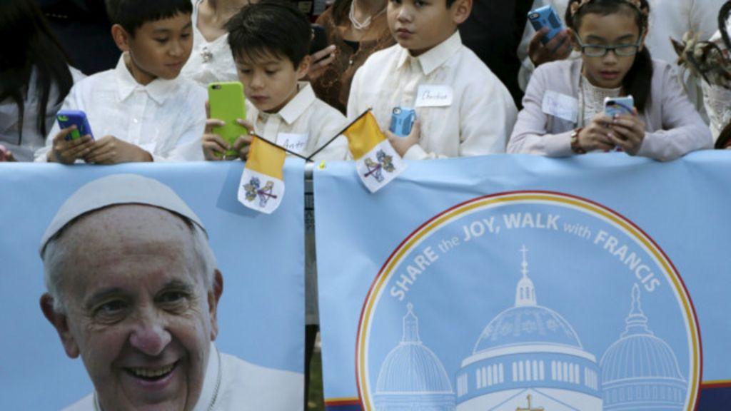 Pela 1ª vez, um papa fala ao Congresso americano - BBC Brasil
