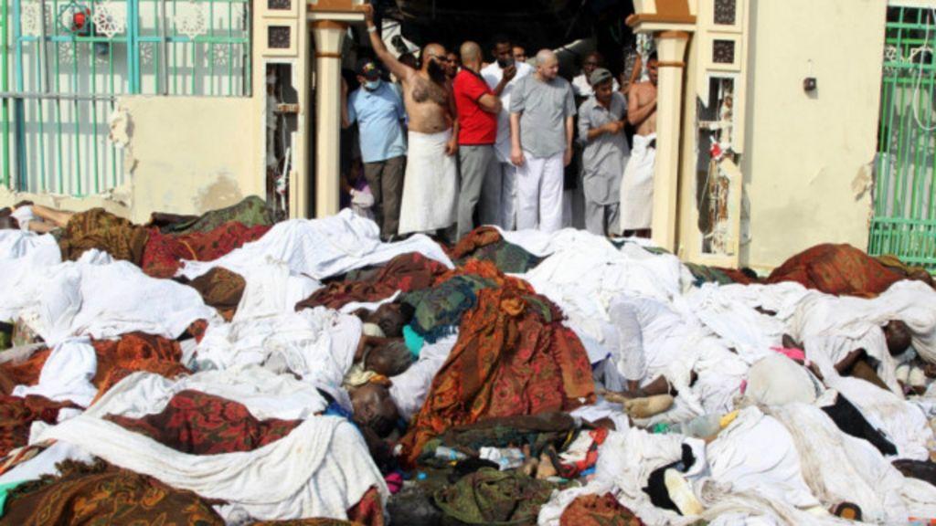 Centenas morrem pisoteados em Meca; local tem histórico de ...