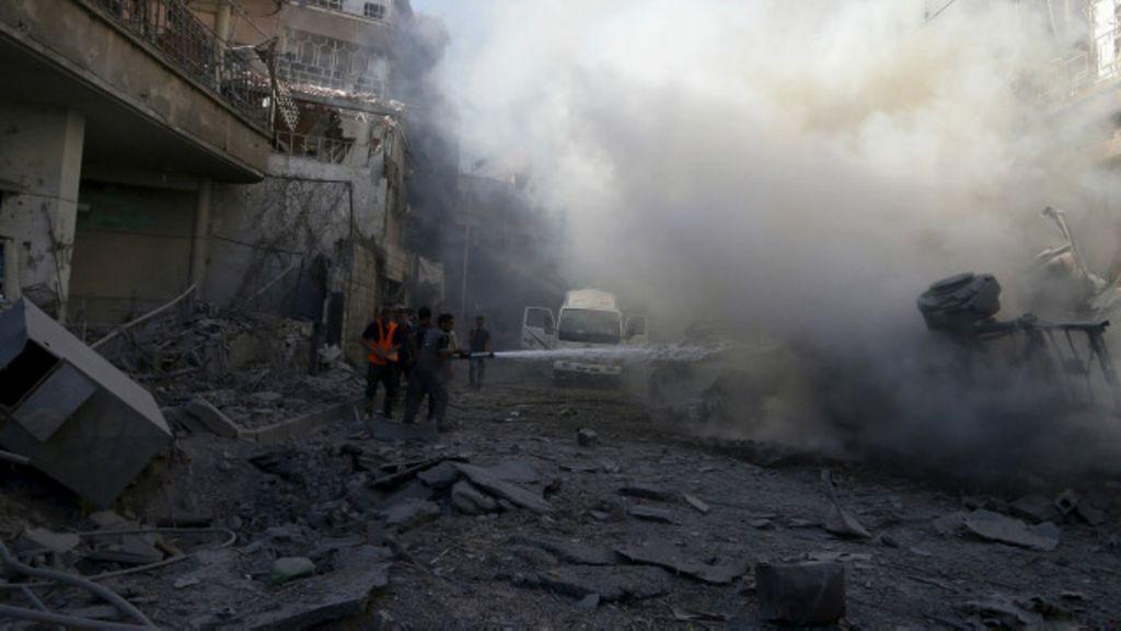 Quem luta contra quem na guerra da Síria - BBC Brasil