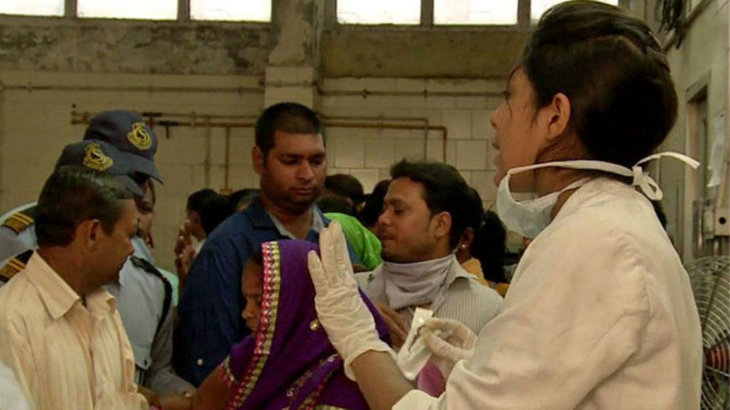 Hospitais na Índia são 'invadidos' por pacientes com dengue - BBC ...