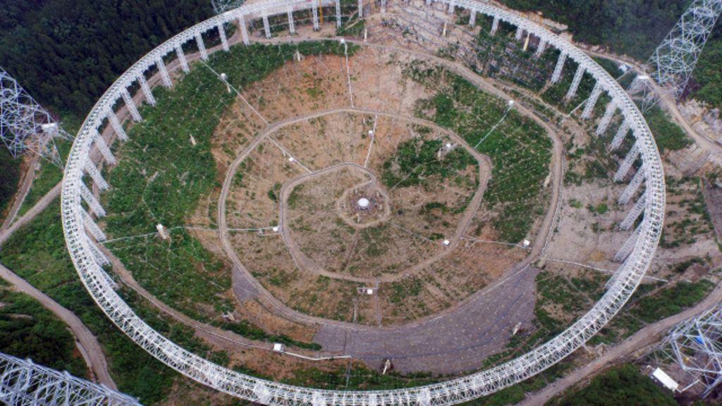 China constrói maior radiotelescópio do mundo para detectar 'vida ...