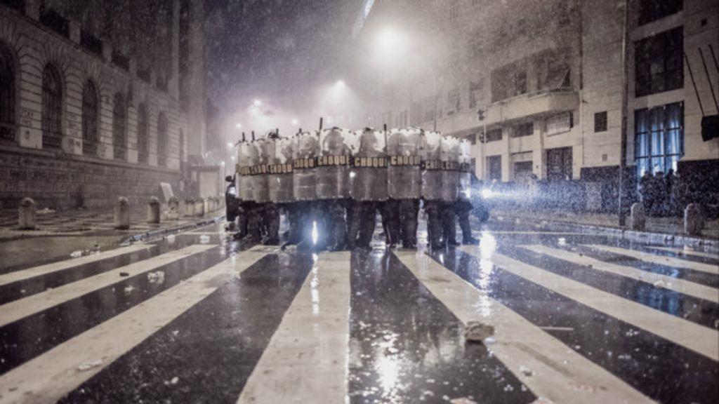 Tropa de choque nas ruas do Rio está entre fotos premiadas em ...