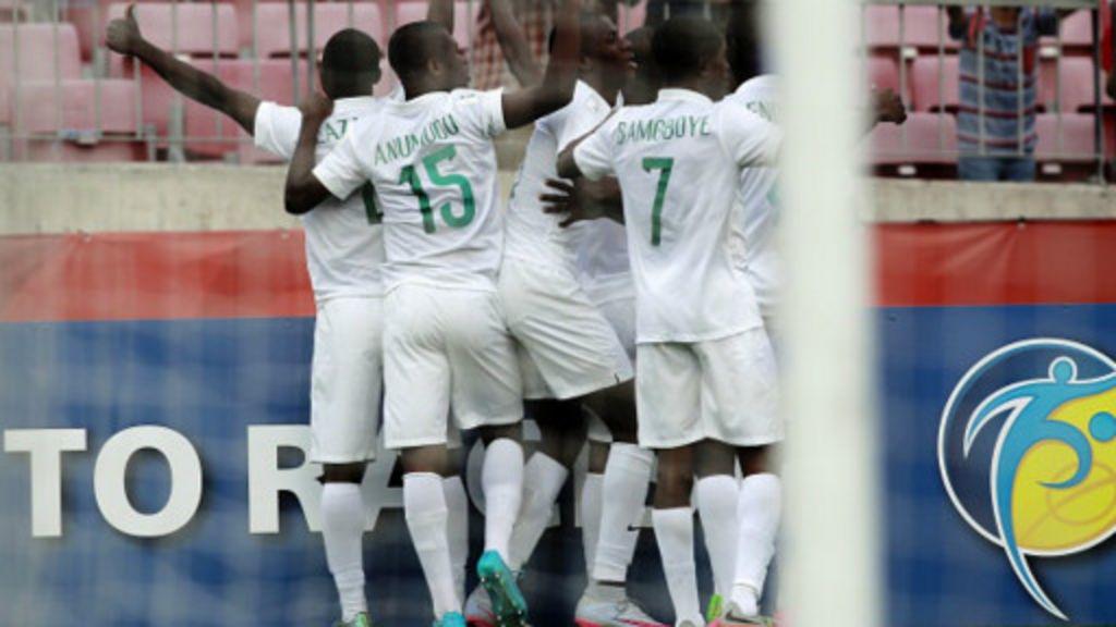 U- 17: Nigeria za ta kece raini da Australia - BBC Hausa
