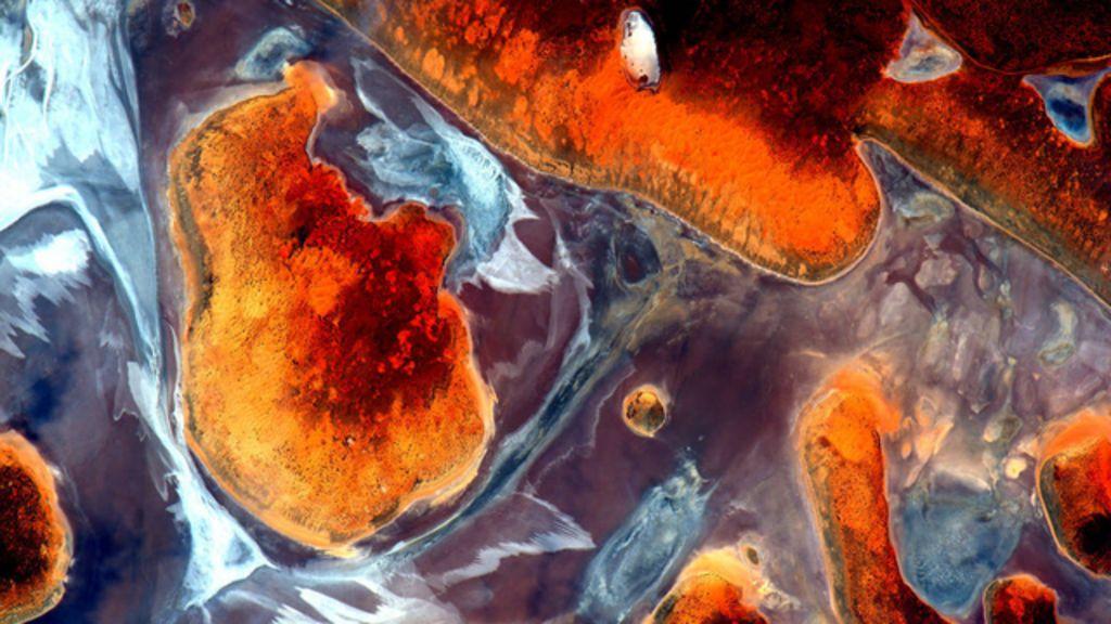 Imagens da Estação Espacial transformam paisagem da Austrália ...