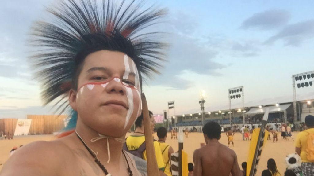 Conheça os indígenas de 5 continentes que participam dos Jogos ...