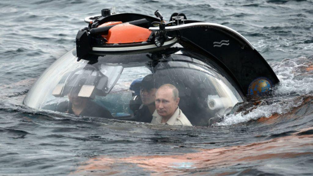 Os submarinos russos podem deixar o mundo sem internet? - BBC ...
