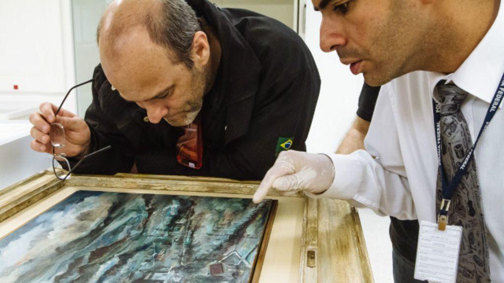 PF busca ajuda externa para desvendar origem de obras de arte da ...
