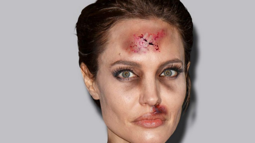 Celebridades 'apanham' em campanha de artista contra violência ...