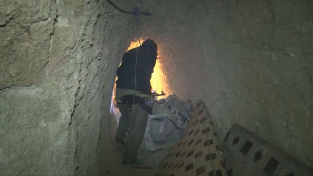 O que havia nos túneis secretos do Estado Islâmico encontrados no ...