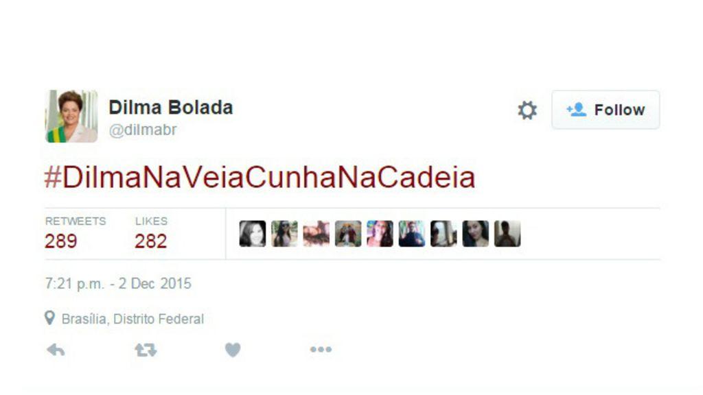 Após rompimento, 'Dilma Bolada' volta a defender presidente sob ...