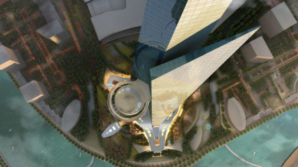Torre de 1 km construída na Arábia Saudita será prédio mais alto do ...