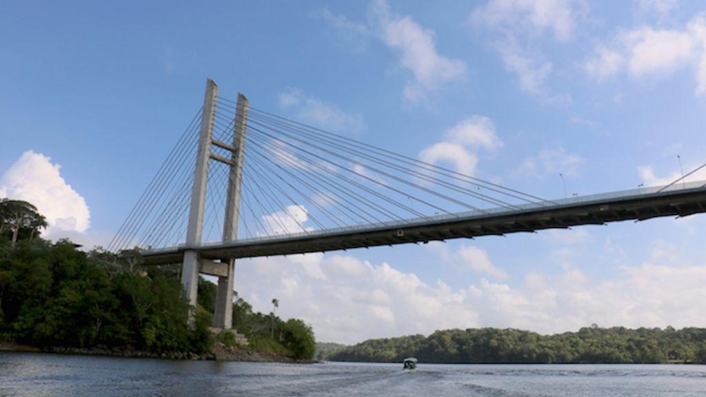 A ponte entre Brasil e Guiana Francesa que ninguém pode cruzar ...