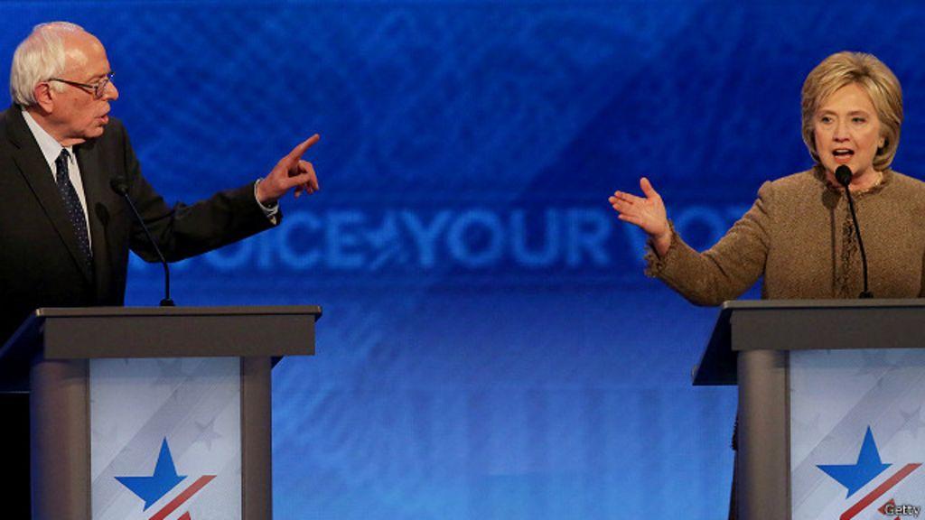 Atrás de Sanders, Hillary conta com minorias para voltar à liderança ...