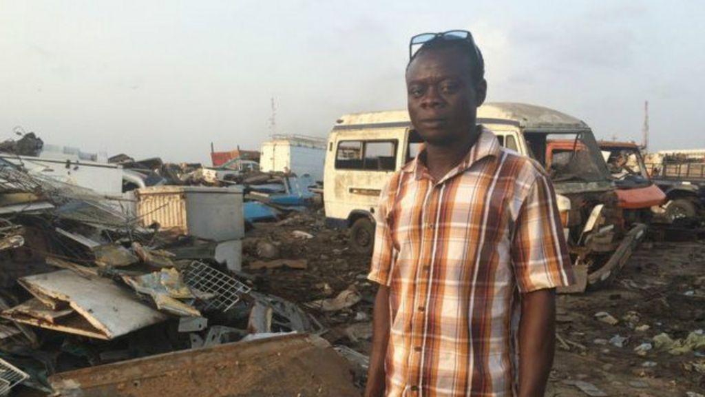 O país da África que se tornou um 'cemitério de eletrônicos' - BBC ...