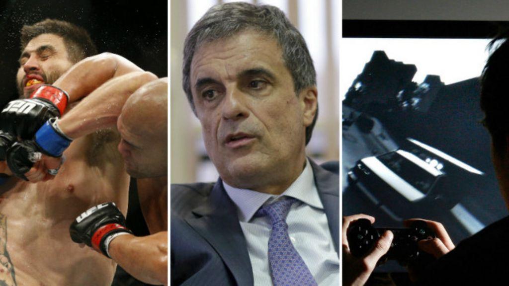 'Violência é aplaudida em esportes e games', diz ministro da Justiça ...