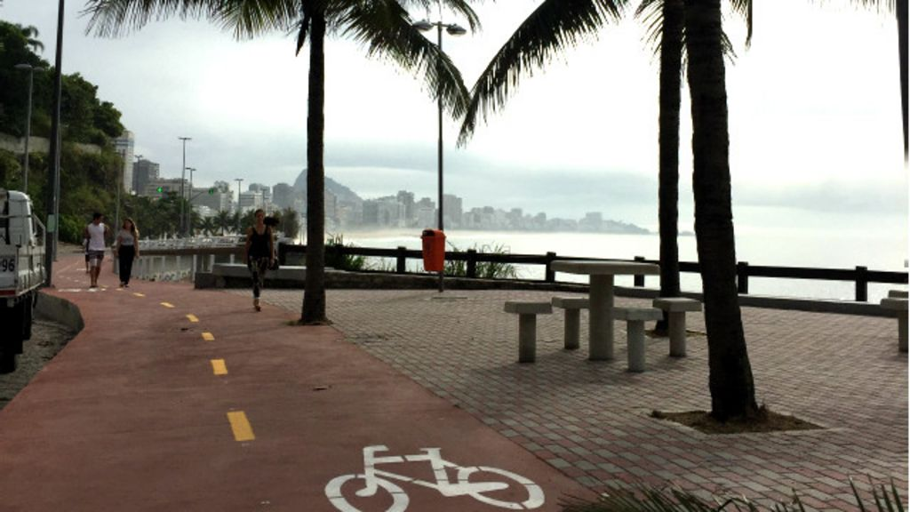 Um passeio pela nova ciclovia elevada entre mar e Mata Atlântica ...