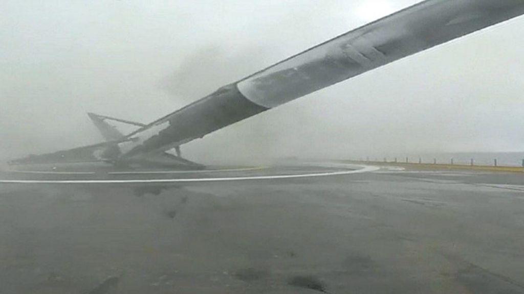 Tentativa de pouso vertical falha e foguete explode; assista - BBC ...