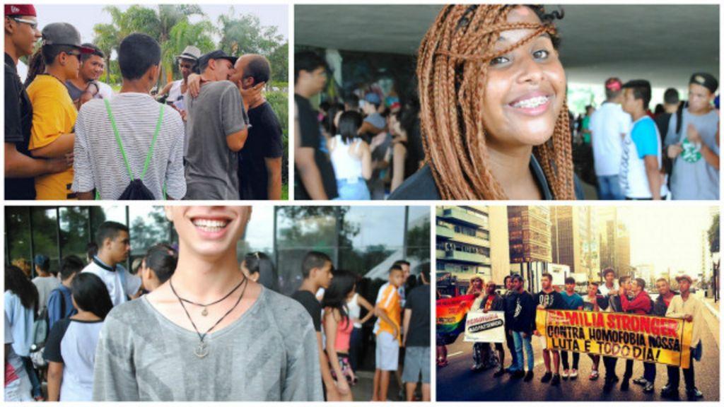 Jovens gays da periferia se reúnem em 'famílias' de ativismo e ...