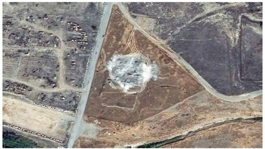 Satélite registra destruição do mosteiro mais antigo do Iraque pelo ...