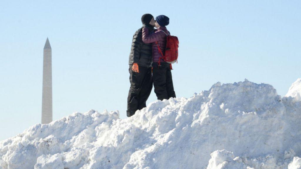 As melhores fotos da nevasca que atingiu o leste dos EUA - BBC ...