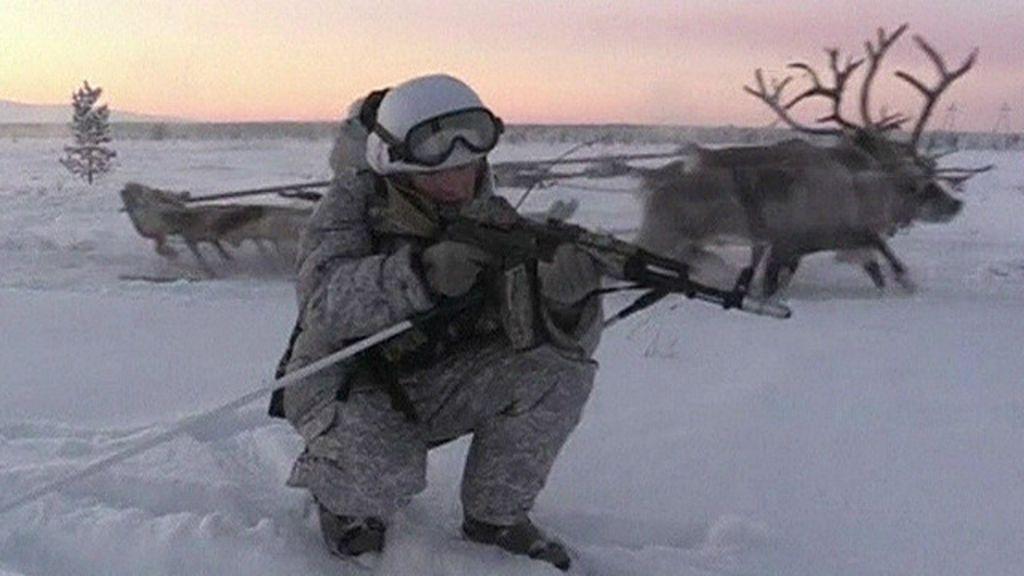 Como militares russos treinam sob frio de 30°C abaixo de zero ...