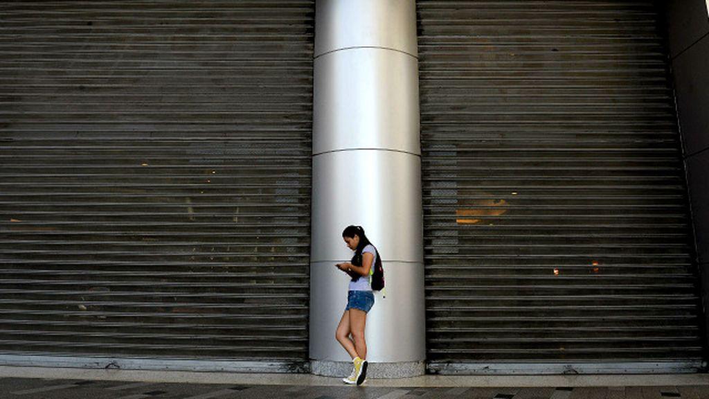 El d a que los centros comerciales de venezuela quedaron for Racionamiento de luz en aragua