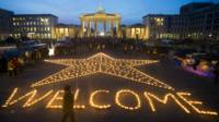 """""""Welcome refugees"""""""