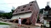 Edificio que colapsa