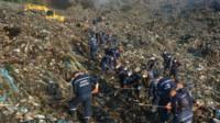 Зсув на сміттєзвалищі: знайшли одне тіло