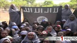 Video de Boko Haram de niñas secuestradas