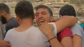 Joven en Gaza