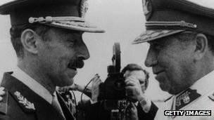 Videla y Pinochet