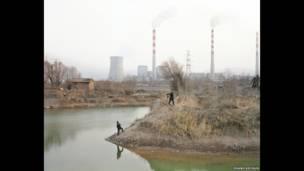 O artista chinês Zhang Kechun passou dois anos fotografando as margens do Rio Amarelo. Foto: Zhang Kechun