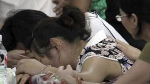 Orang tua Wang Linjia, korban tewas kecelakaan pesawat Asiana 214