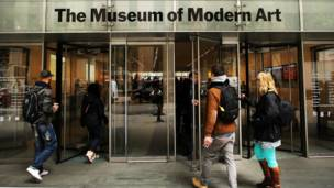 MoMA di New York, Getty images