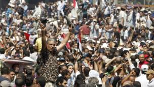 Seguidores de Mohamed Mursi