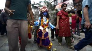 nepal cow festival