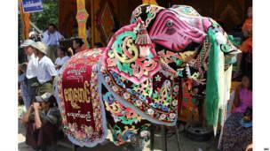 kyaukse elephant