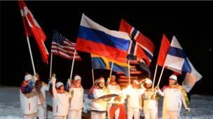 उत्तरी ध्रुव, ओलंपिक